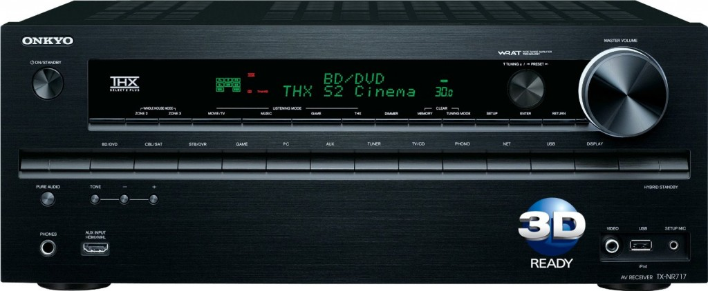 Onkyo TX-NR717 7.2-Channel Home Theater A_V Receiver