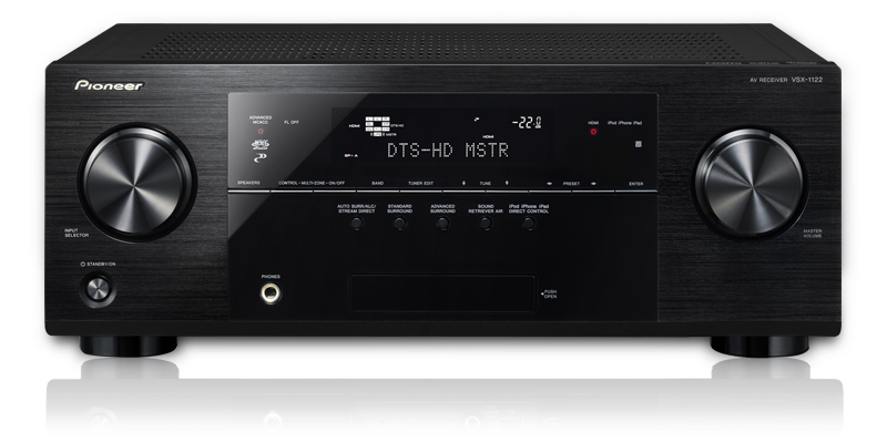 Pioneer VSX-1122-K 630W 7-Channel A_V Receiver, Network Ready, Pandora, iPod_iPhone